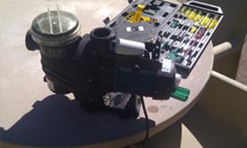pool filter repair detailing new parts