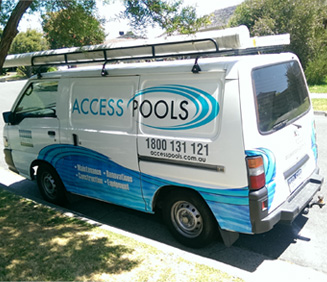access pools scheduled pool service