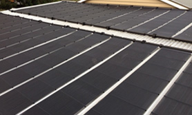 solar heating access pools